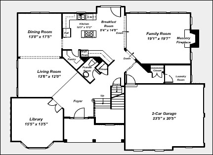 Floorplans and Renderings Styles